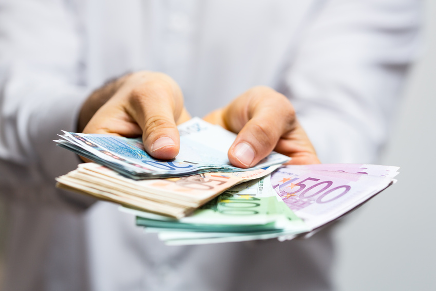 Bild Geld Startseite Kleinkreditonline